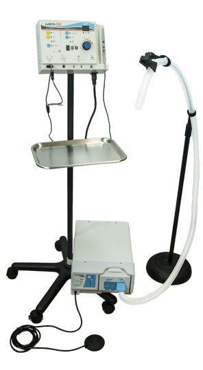 Monopolar coagulation HF electrosurgical unit / monopolar cutting / with aspirator AARON® 950-G Bovie Medical Corporation