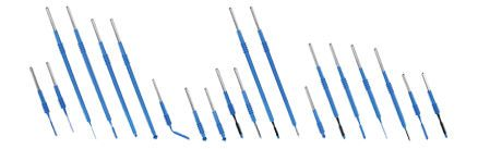 Coated blade electrode / for electrosurgical units RESISTICK II™ Bovie Medical Corporation