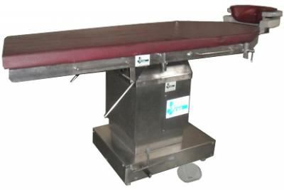 Ophthalmic operating table / electrical / on casters 984 33 Shree Hospital Equipments