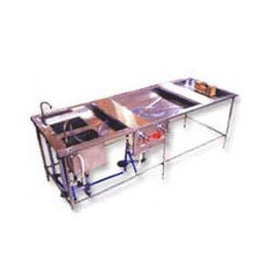 Autopsy table / with sink SP-99-Deluxe Span Surgical