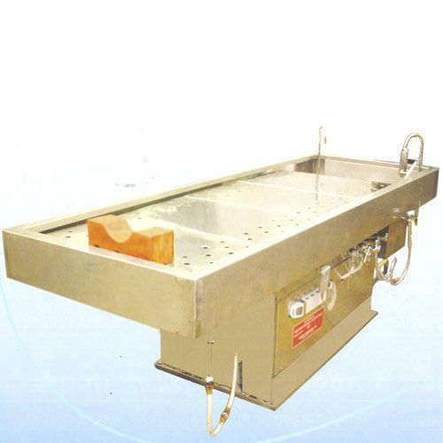 Autopsy table / electric / with sink / height-adjustable SP-200 Span Surgical