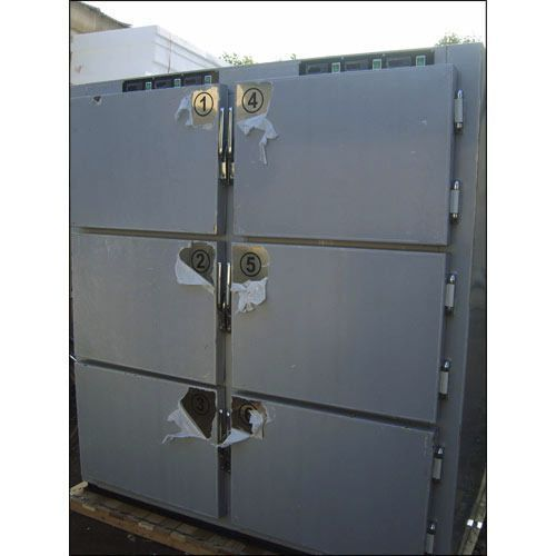 6-body refrigerated mortuary cabinet Span Surgical