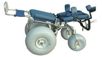 Electric wheelchair / all-terrain Beach Smile Rehab
