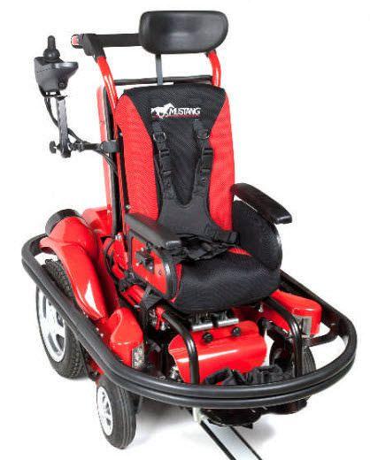 Electric wheelchair / exterior / pediatric Smart MUSTANG® Smile Rehab