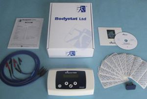 Bio-impedancemetry body composition analyzer / with BMI calculation / with mobile display Bodystat 1500 Bodystat