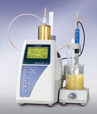 Titrator automatic TitroLine® easy SI Analytics