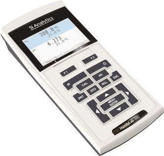 Laboratory pH meter / portable / with conductivity meter HandyLab 680 SI Analytics