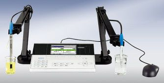 Laboratory pH meter / bench-top / with conductivity meter ProLab 4000 SI Analytics