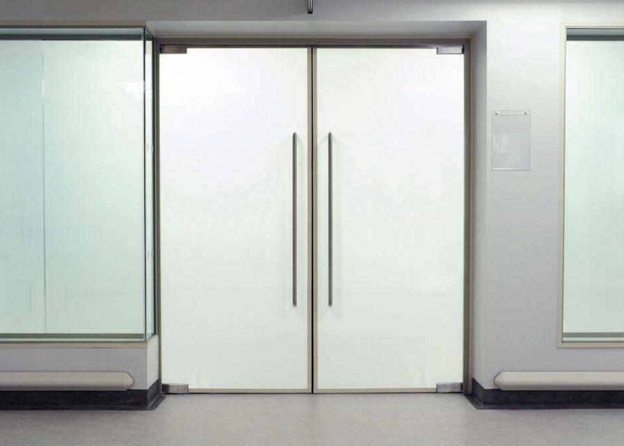 Hospital door / laboratory / swinging / smart glass Black-out Smartglass SMARTGLASS