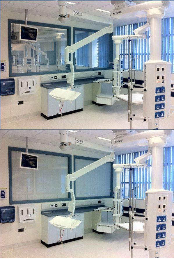 Hospital window / laboratory / viewing / smart glass Smartglass AB™ SMARTGLASS