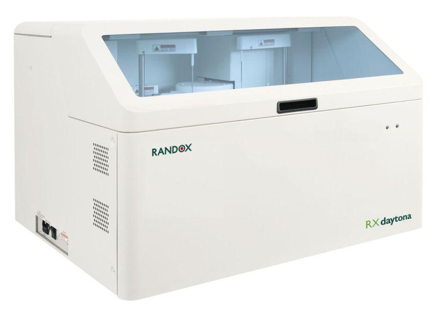 Automatic biochemistry analyzer / compact / veterinary 180 - 270 tests/h   RX Daytona Randox Laboratories