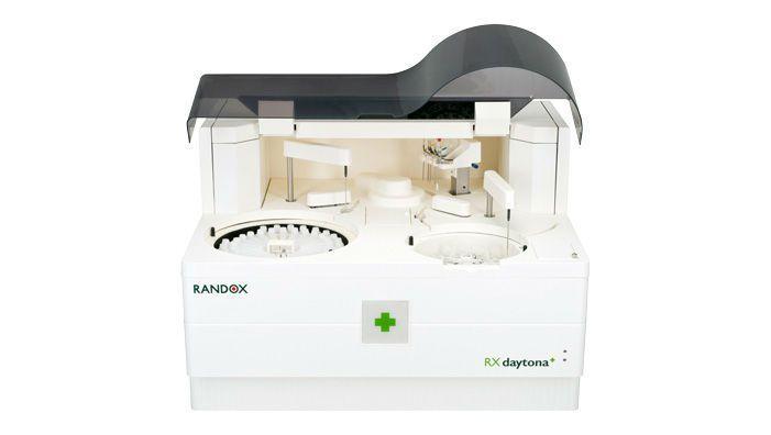 Automatic biochemistry analyzer / compact / veterinary / random access 450 tests/h   RX Daytona+ Randox Laboratories