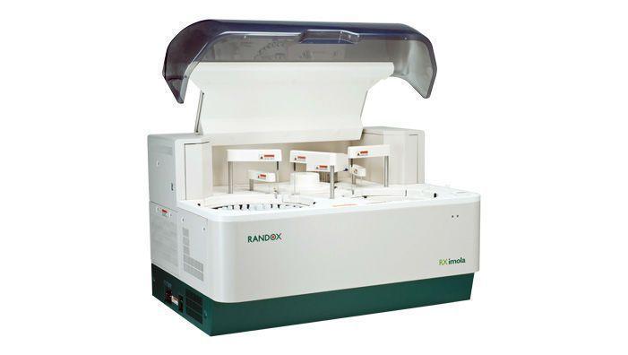 Automatic biochemistry analyzer / compact / bench-top / veterinary 450 tests/h   RX Imola Randox Laboratories