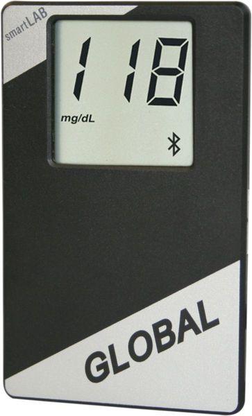 Wireless blood glucose meter smartLAB®global SmartLAB