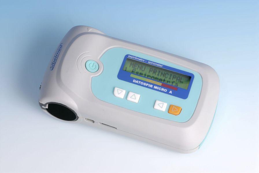 Hand-held spirometer / wireless / USB 0 - 16 L/s | DATOSPIR MICRO SIBEL, S.A.