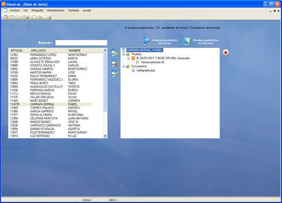 Polygrahy software / medical / polysomnography BitmedLab SIBEL, S.A.