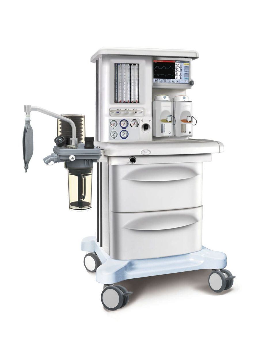 Anesthesia workstation with gas blender / 6-tube X45 SIRIUSMED