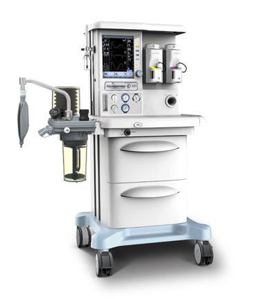 Anesthesia workstation with tube flow meter / 6-tube X50 Plus SIRIUSMED