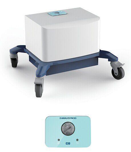 Medical air compressor / for artificial ventilation C30 SIRIUSMED