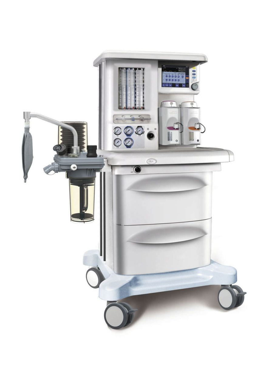 Anesthesia workstation with gas blender / 6-tube X40 SIRIUSMED