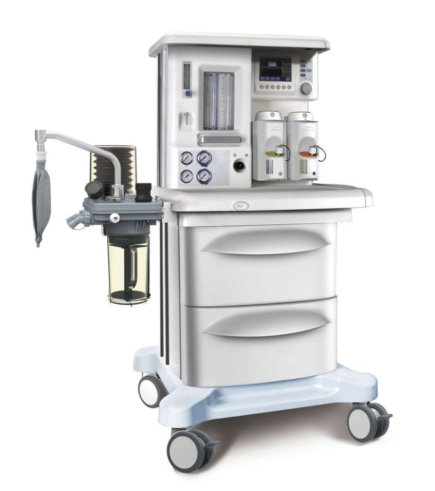 Anesthesia workstation with gas blender / 4-tube X30 SIRIUSMED