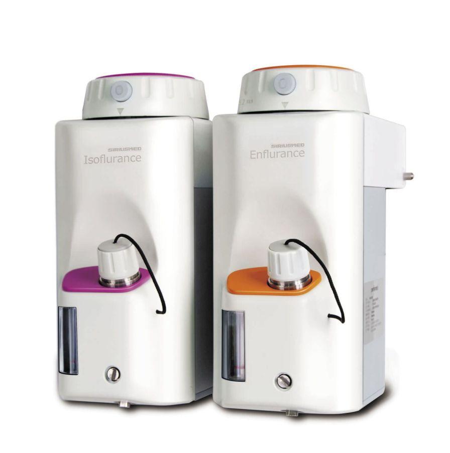 Anesthetic gas evaporator Isoflurance SIRIUSMED