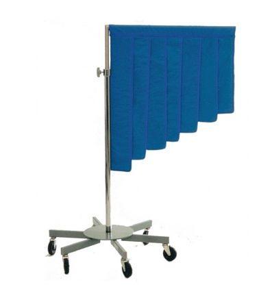 X-ray radiation protective shield / mobile 1002 Shielding International