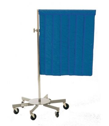 X-ray radiation protective shield / mobile 1003 Shielding International