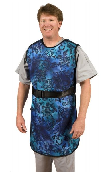 X-ray protective apron radiation protective clothing / front protection VAQR Shielding International