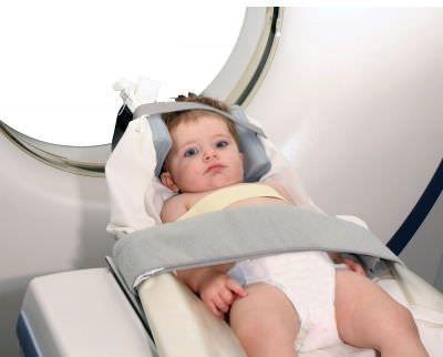 Radiation protective clothing / radiation protection breast shield / pediatric CT-PBS Shielding International