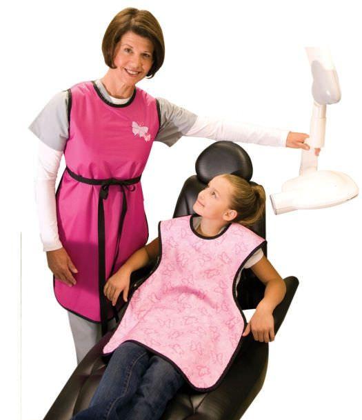 Radiation protective clothing / dental radiation protection apron / front protection 301 Shielding International