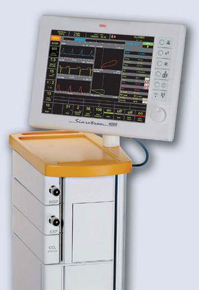 Resuscitation ventilator SIARETRON 4000 Siare