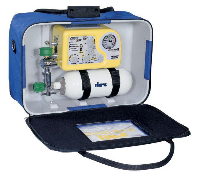 Transport ventilator / emergency / CPAP / with adjustable PEEP Sirio S2/T Siare
