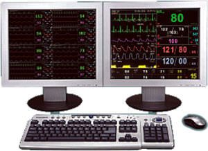 Patient central monitoring station / 16-bed D-16 NEPTUNE Siare