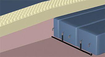 Hospital bed mattress / anti-decubitus / dynamic air / foam SelfAir 4T Savatech d.o.o.