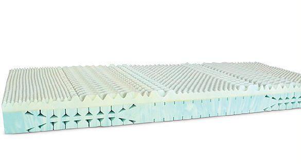 Hospital bed mattress / foam / static air / multi-layer FoamVita Savatech d.o.o.
