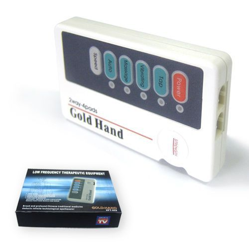 Electro-stimulator (physiotherapy) / hand-held / 2-channel XFT-502 Shenzhen XFT Electronics