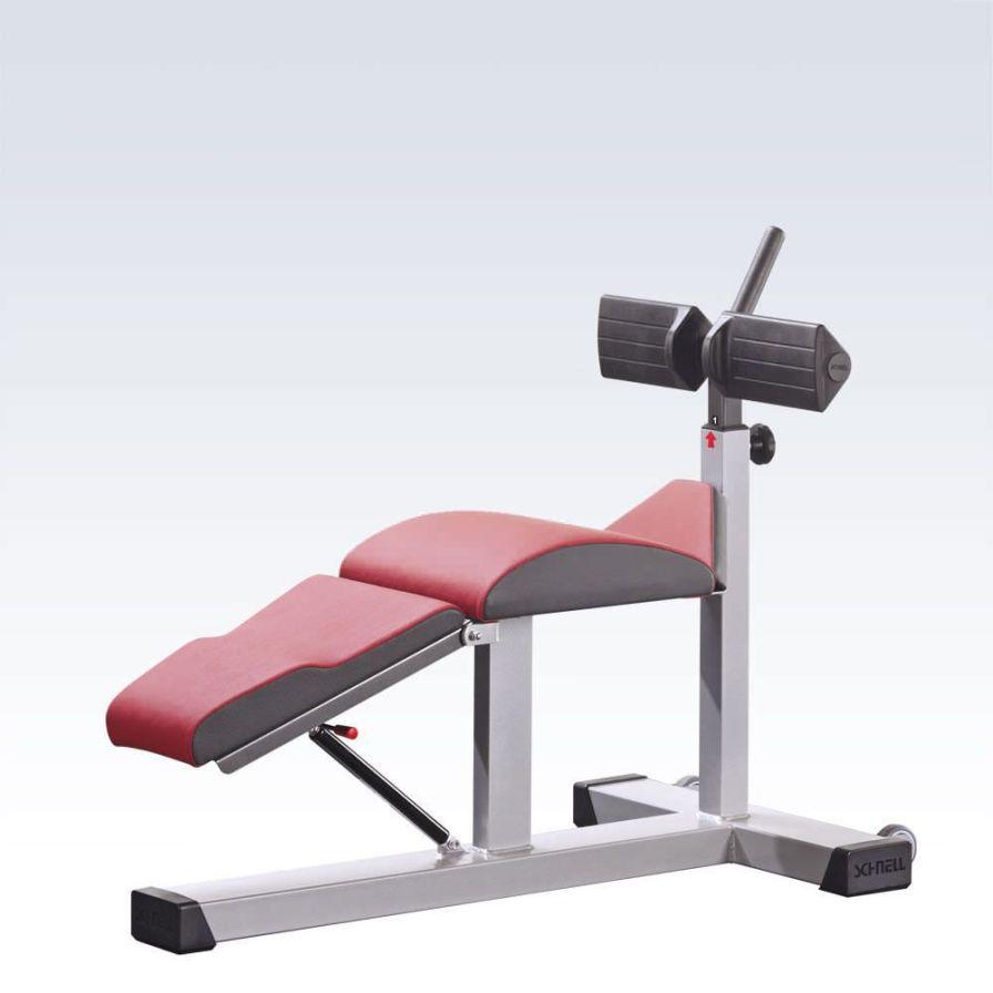 Abdominal crunch bench (weight training) / abdominal crunch / rehabilitation / adjustable R6290 Schnell