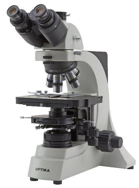 Laboratory microscope / optical / trinocular / LED B-500ASB Optika Italy