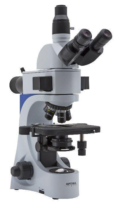 Laboratory microscope / fluorescence / trinocular / LED B-383LD1 Optika Italy