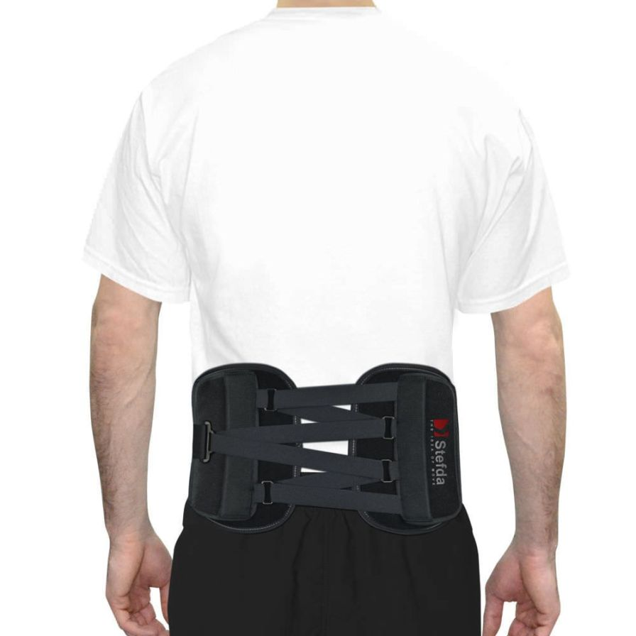 Sacral support belt / lumbar / lumbosacral (LSO) / rigid AS-LK-02 Reh4Mat