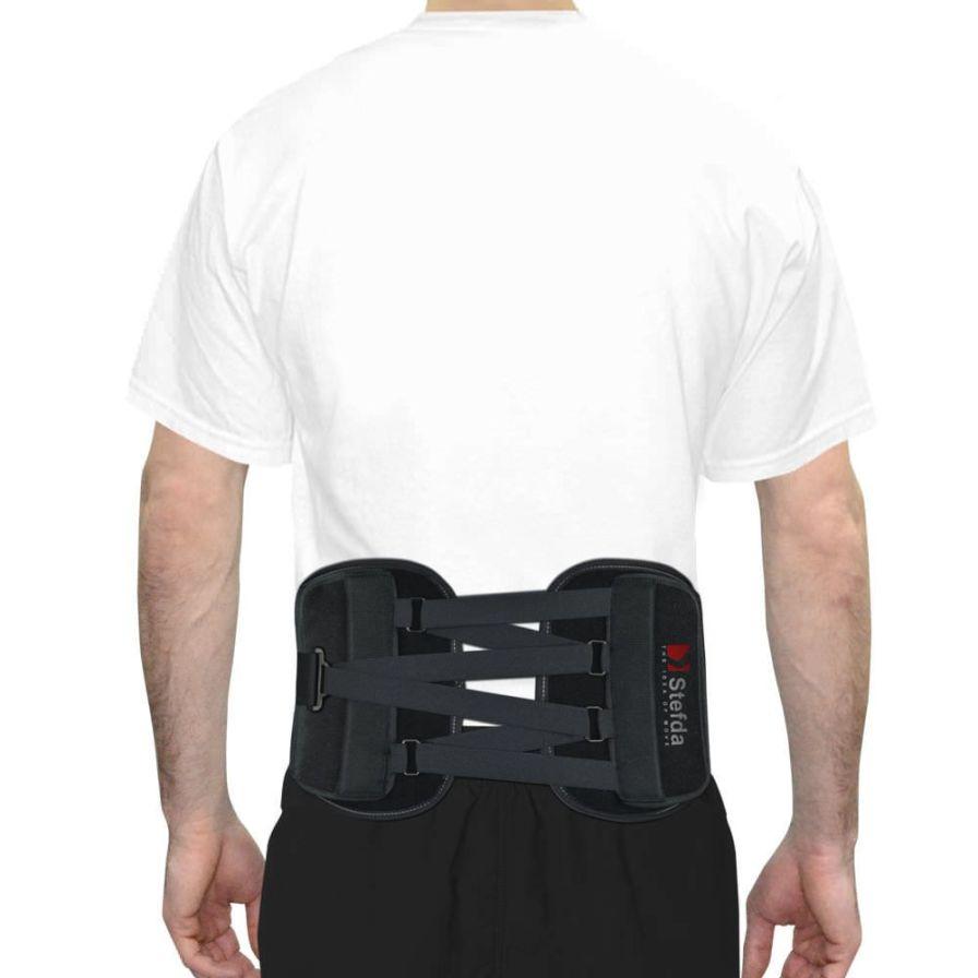 Sacral support belt / lumbar / lumbosacral (LSO) / rigid AS-LK-02 Reh4Mat