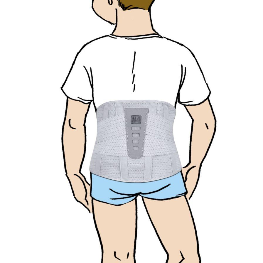 Sacral support belt / lumbosacral (LSO) / lumbar / pediatric AR-SO-01 Reh4Mat