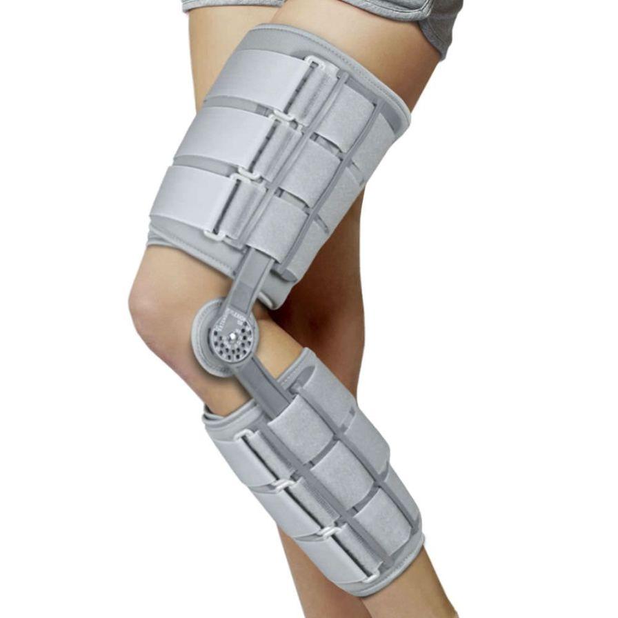 Knee splint (orthopedic immobilization) / articulated AM-KD-AM/1R-01 Reh4Mat