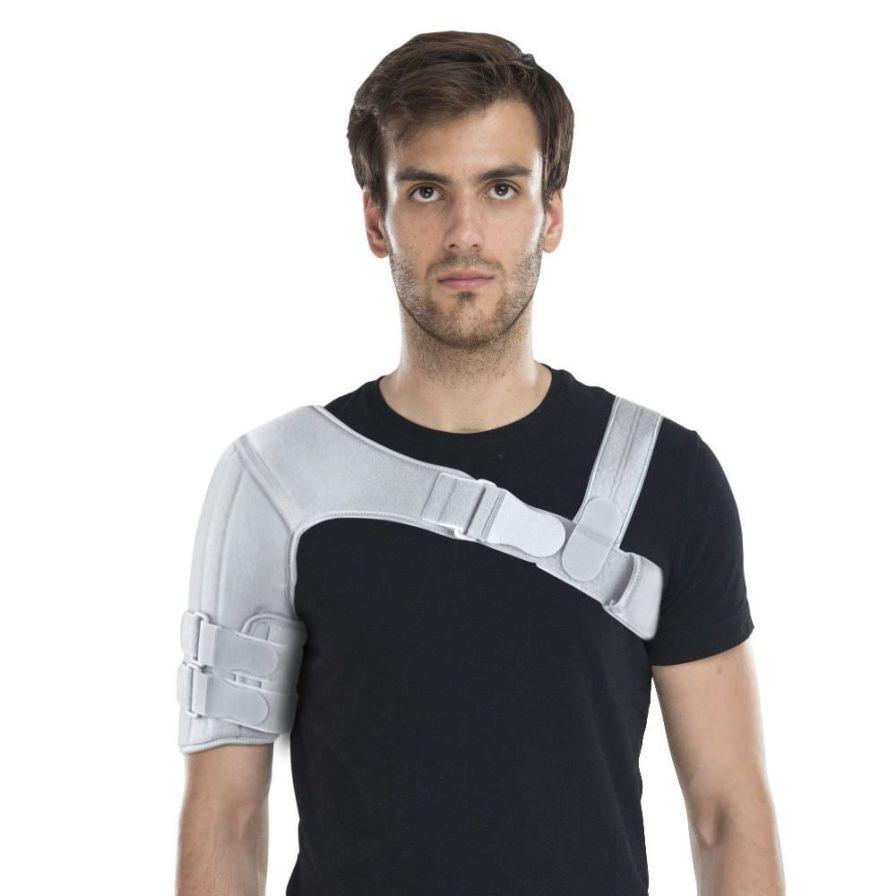 Shoulder orthosis (orthopedic immobilization) / immobilisation / flexible AM-BX-01 Reh4Mat