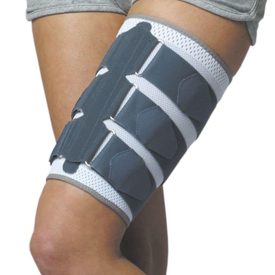 Thigh sleeve (orthopedic immobilization) / with quadracipital pad R4M-U-01 Reh4Mat