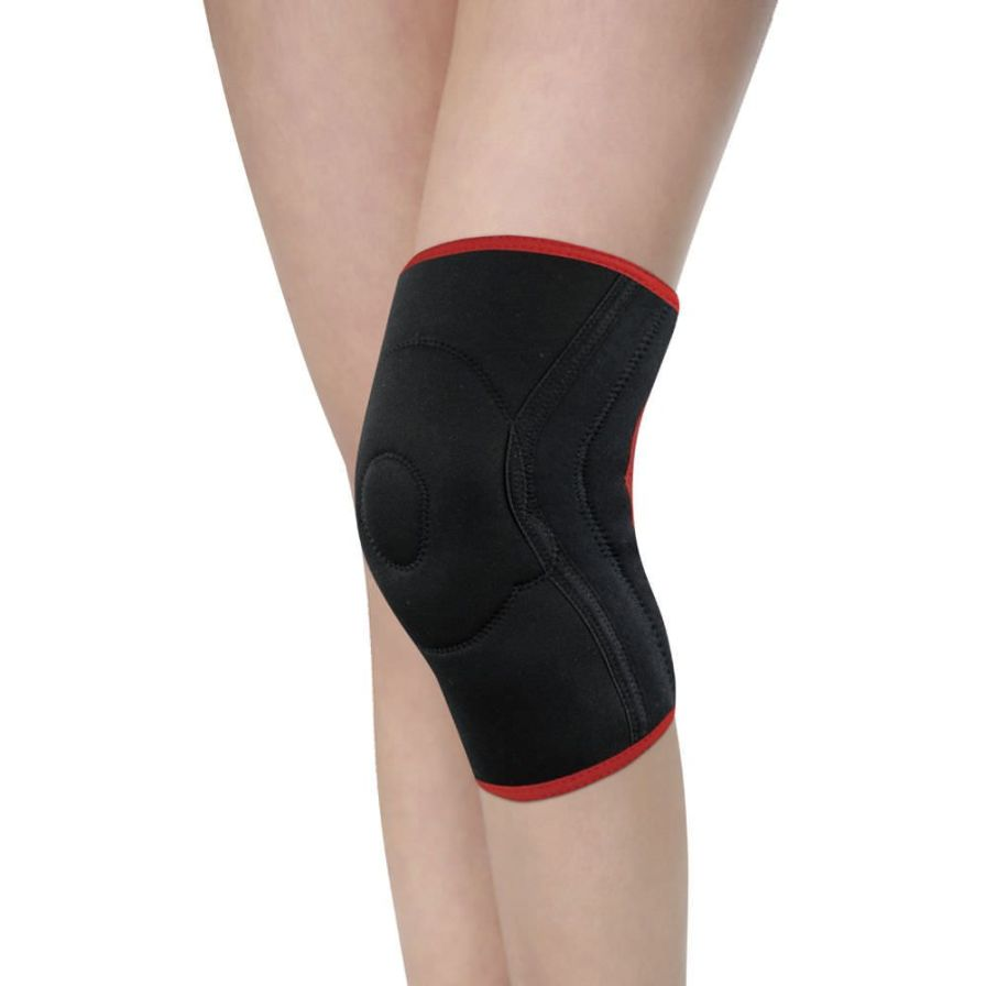 Knee sleeve (orthopedic immobilization) / with flexible stays / with patellar buttress AS-SK/F Reh4Mat