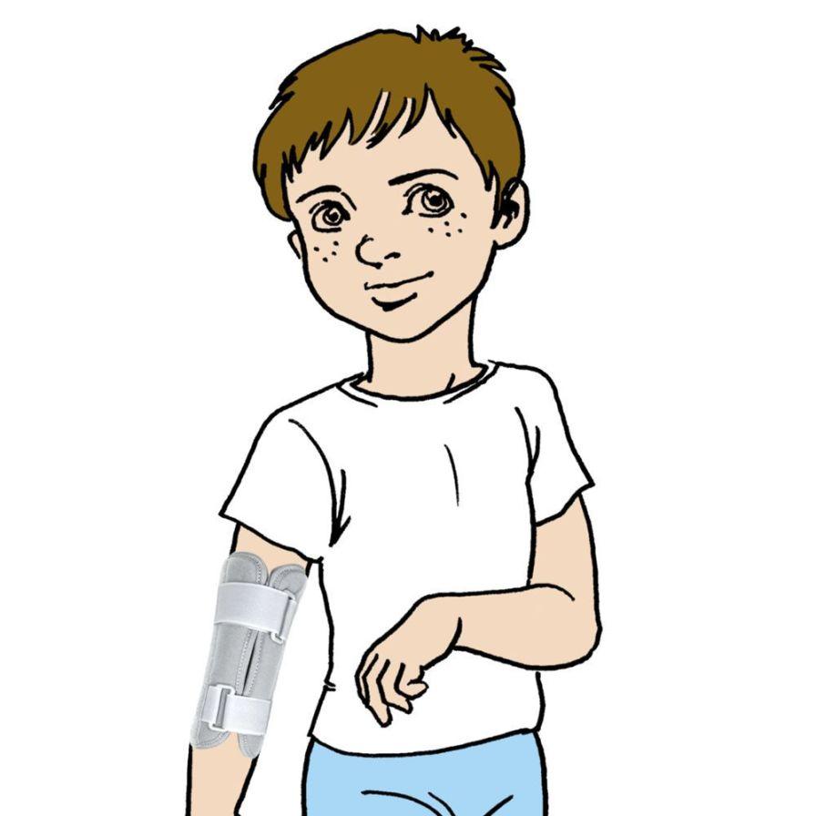 Elbow splint (orthopedic immobilization) / pediatric AM-TL-01 Reh4Mat