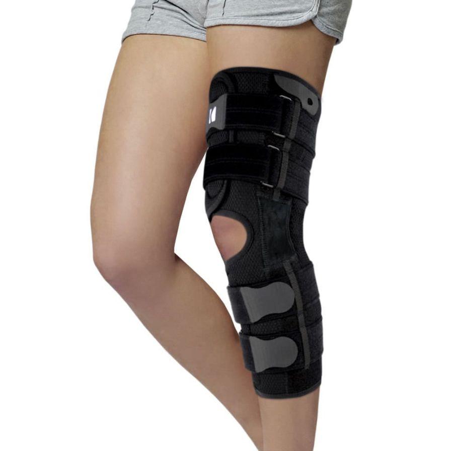 Knee splint (orthopedic immobilization) / articulated AM-OSK-OL/1R-01 Reh4Mat