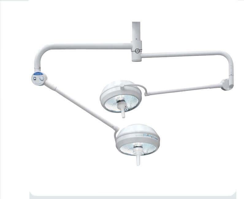 Halogen surgical light / ceiling-mounted / 2-arm 100 000 lux | D400 x 2 Rimsa P. Longoni